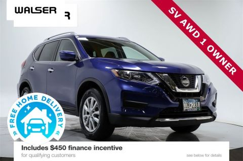 Certified Pre-Owned 2019 Nissan Rogue SV AWD