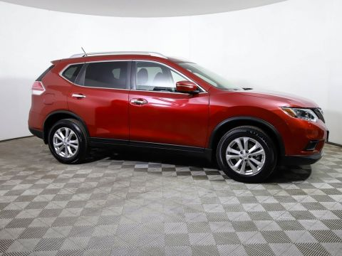 Certified Pre-Owned 2015 Nissan Rogue *CERTIFIED* SV AWD BLUETOOTH CAMERA 1 OWNER TRADE